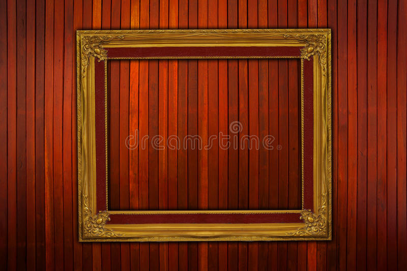 Frame With Wall Royalty Free Stock Photo