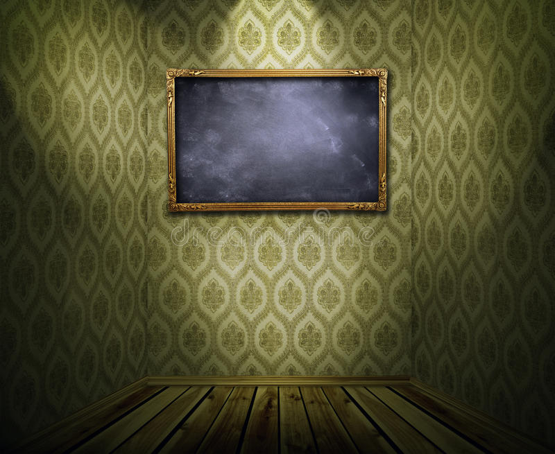 Download Frame On Wall Royalty Free Stock Photography - Image: 33761147