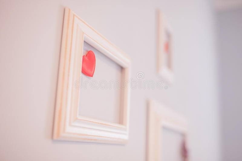 frame on the wall royalty free stock photo
