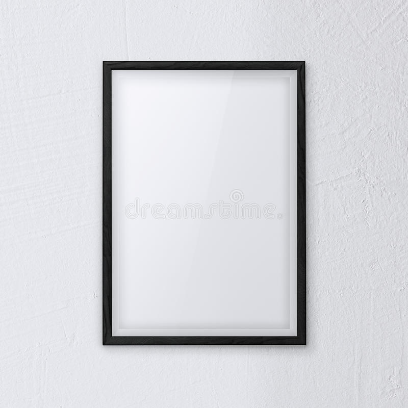 Download Frame wall white stock image. Image of blank, interior - 36624297