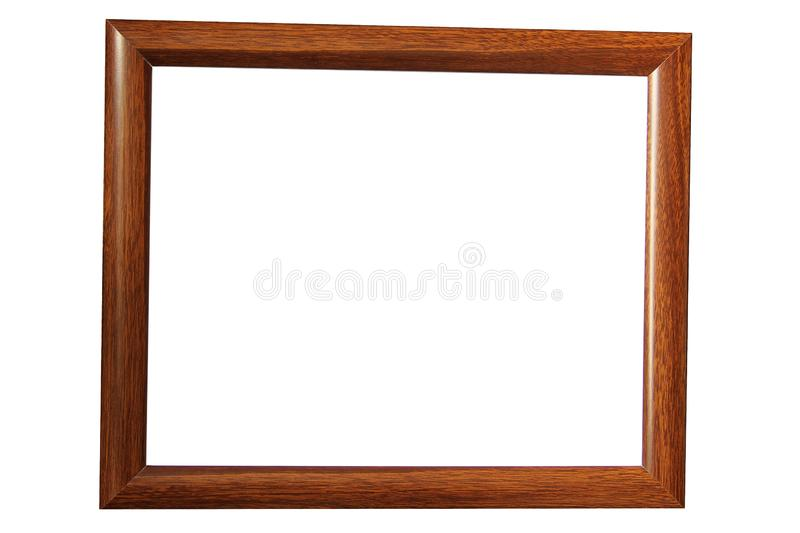 Frame on a white background. With place for your text royalty free stock images