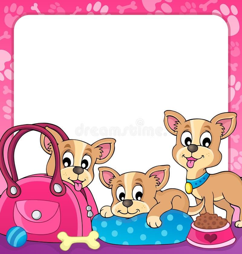 Free Frame With Dog Theme 3 Royalty Free Stock Photos - 31200808