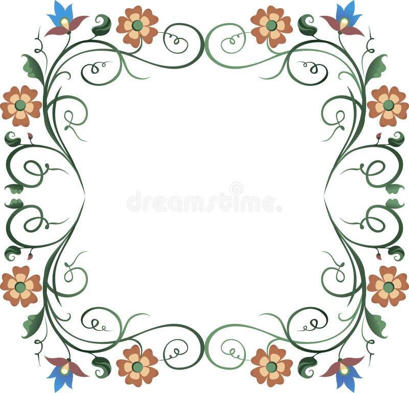 Download Frame wreath stock illustration. Image of bouquet, landscape - 37848927