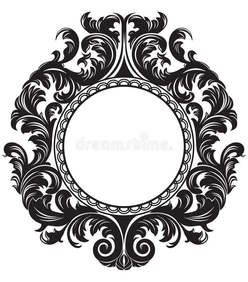 Download Frame4 stock vector. Image of nature, pattern, fashion - 3869362