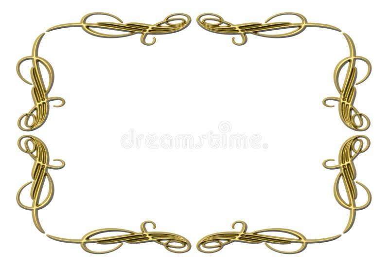 Frame6 ilustração stock