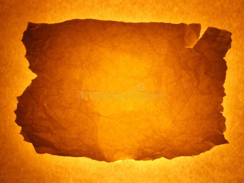 Framed background (golden brown) stock photography