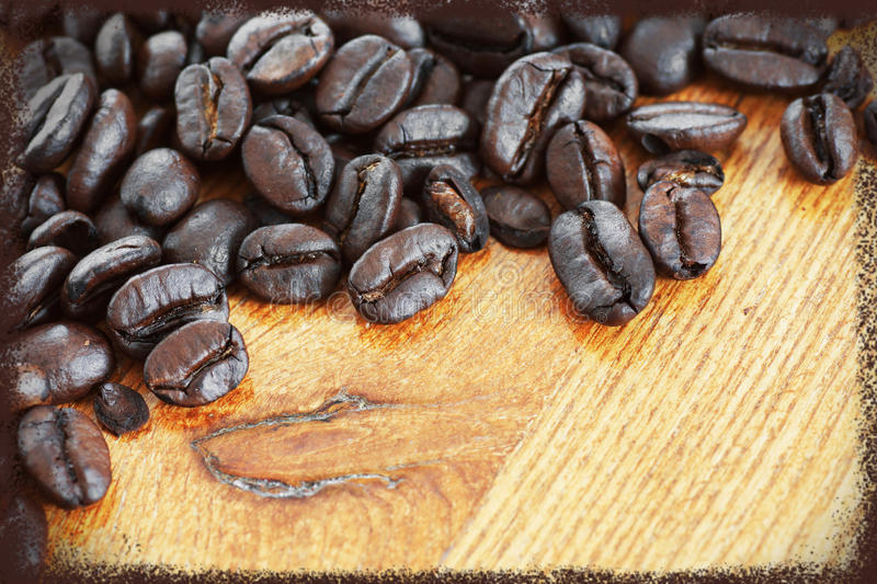 Download Framed coffee beans stock photo. Image of bitter, card - 38236642