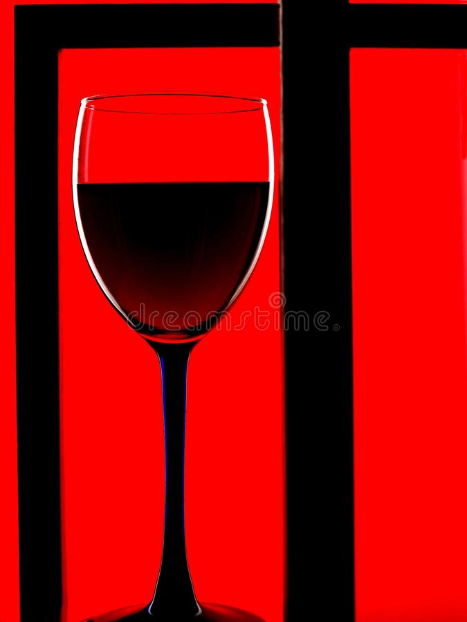 Download Framed Wine Glass Background Stock Photo - Image: 10643876