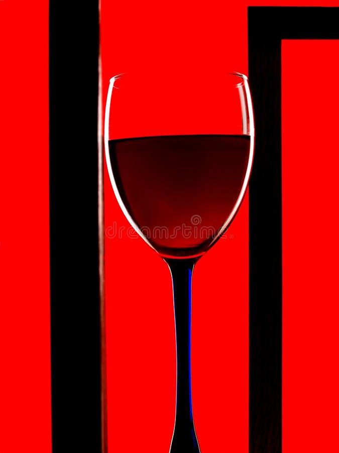 Framed Wine Glass Background