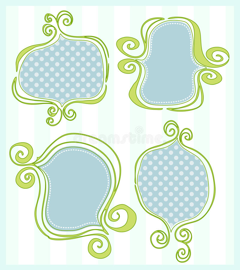 Download Frames stock illustratie. Illustratie bestaande uit elegant - 10783188