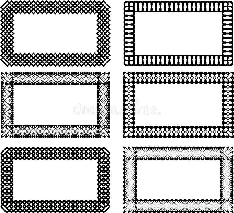 Frames vector illustration