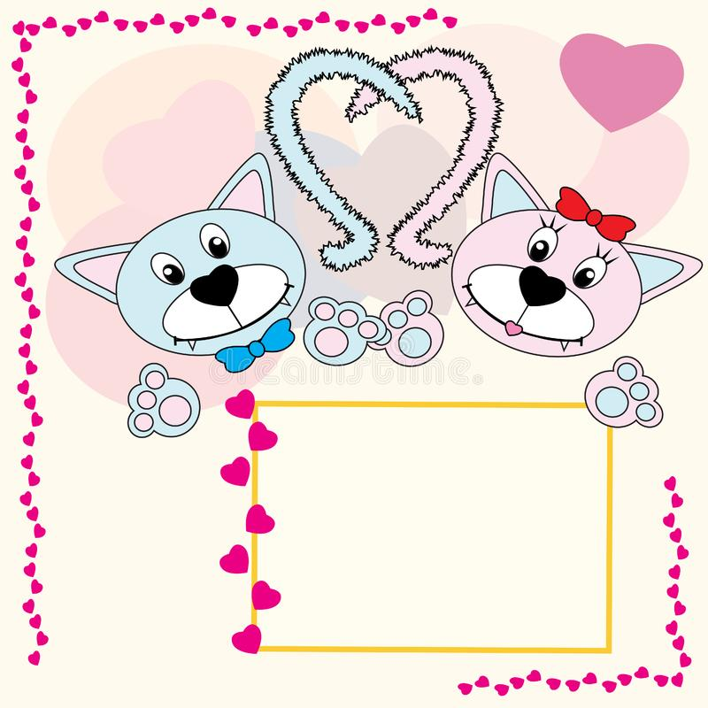 Download Frames stock illustration. Illustration of tail, animal - 7742953