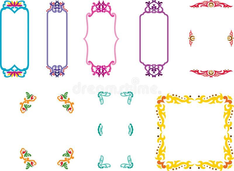 Download Frames stock vector. Image of illustration, nature, decorative - 8747402