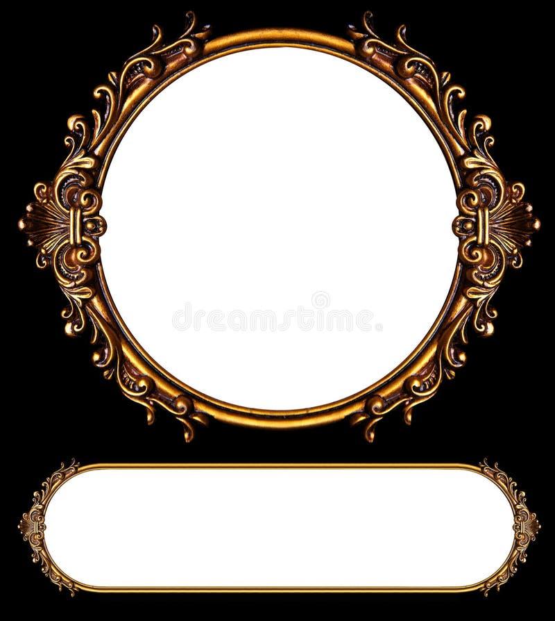 Frames antigos ilustração royalty free