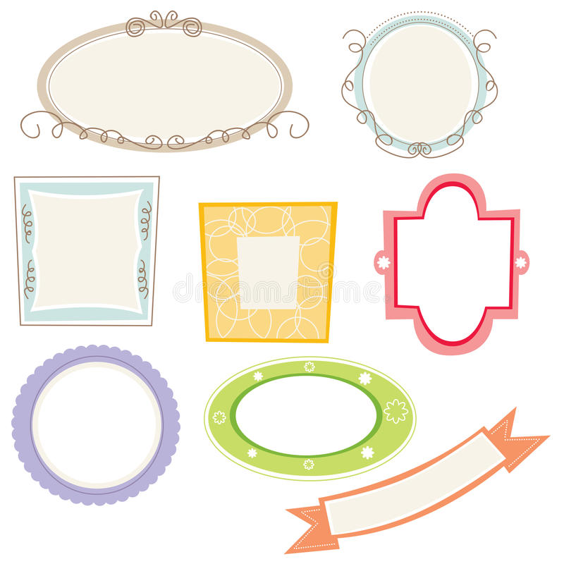 Download Frames and border stock vector. Illustration of cute - 10257061