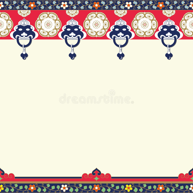 Frames Of Chinese Style(Copy Space) Stock Vector - Illustration of ...