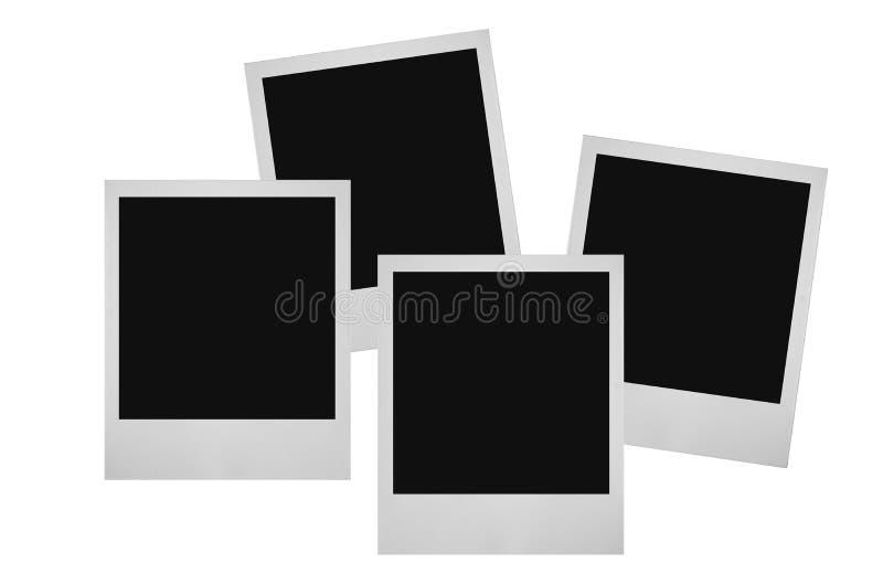 Frames da foto ilustração stock