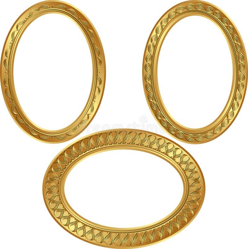 Frames De Goldenl Fotografia de Stock Royalty Free