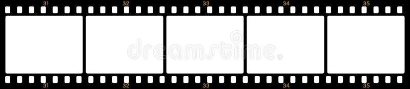 Frames de película ilustração stock