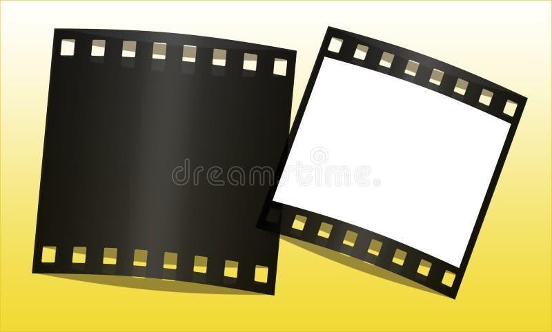 Frames de película ilustração do vetor