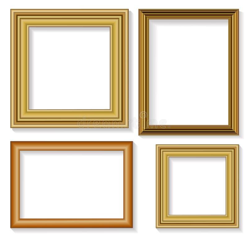 Frames de retrato ilustração royalty free