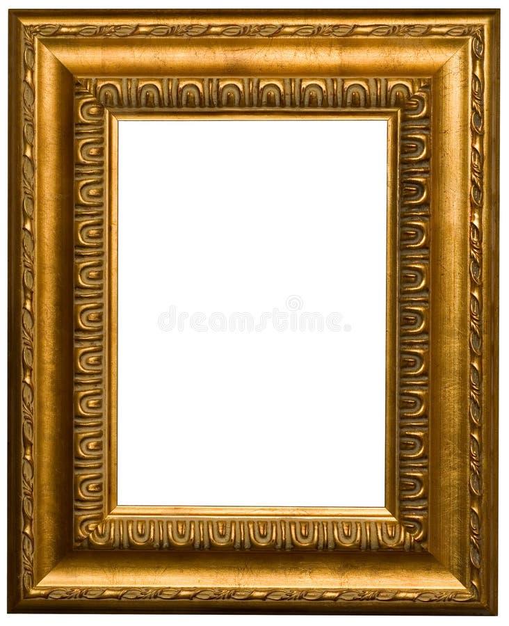 Frames de retrato do ouro imagem de stock royalty free
