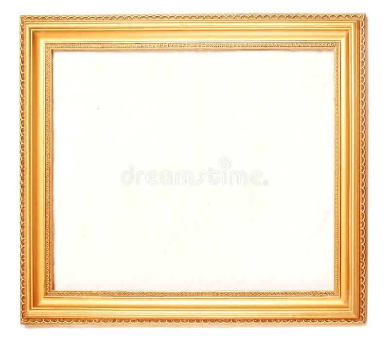Frames de retrato do ouro fotos de stock royalty free