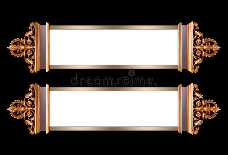 Frames de retrato extravagantes ilustração stock