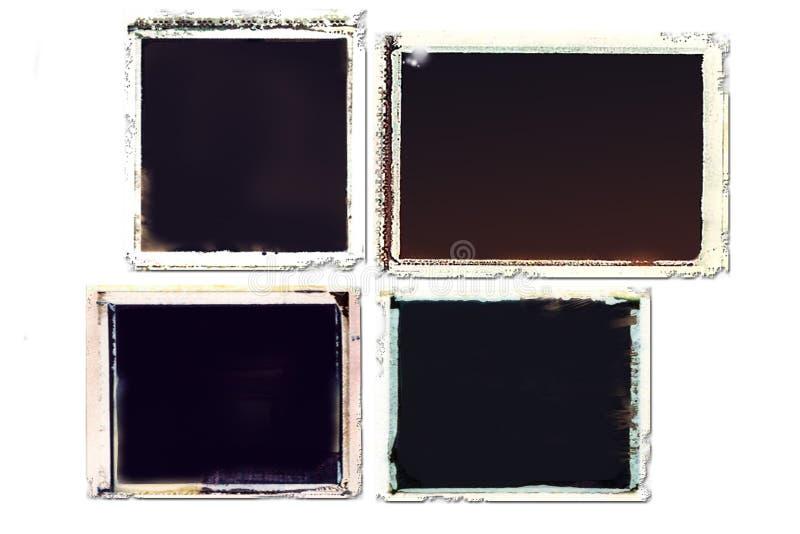 Frames de transferência de Grunge ilustração do vetor