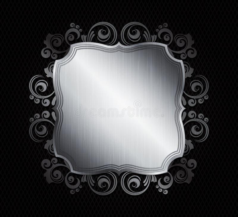 Frames do metal ilustração royalty free