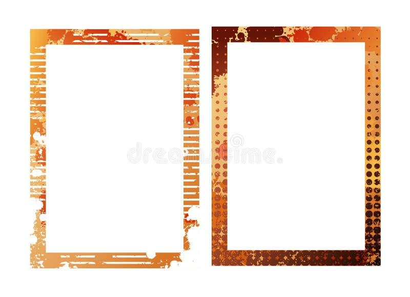 Frames do vetor ilustração royalty free