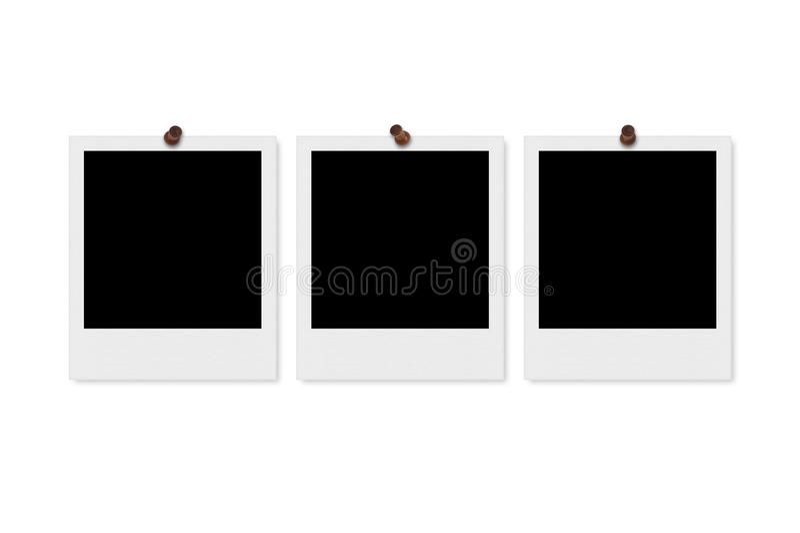 Frames em branco da foto fotografia de stock royalty free
