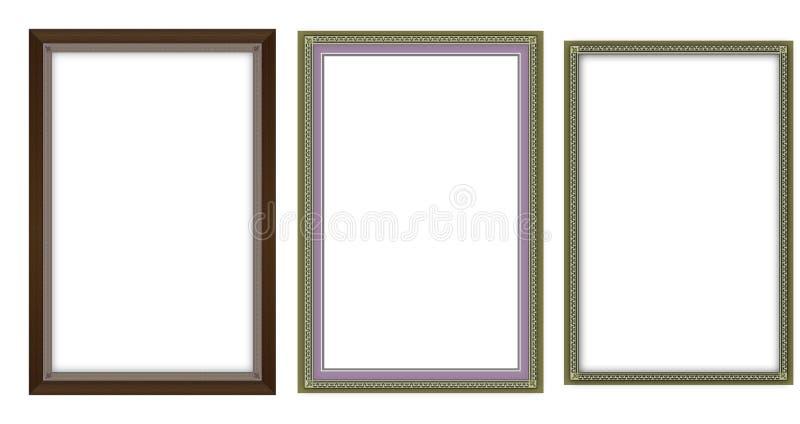 Frames extravagantes ilustração stock