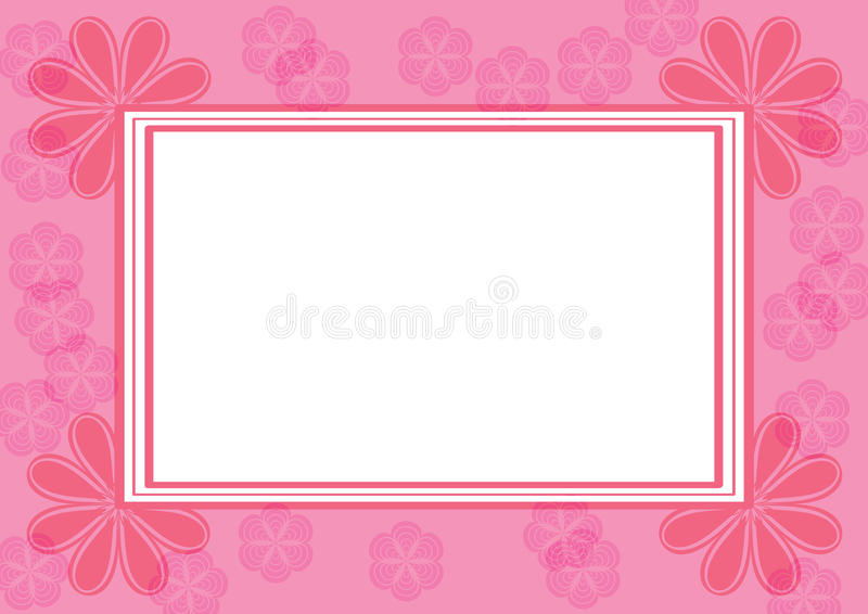 Download Frames with flowers stock illustration. Illustration of illustration - 10157850