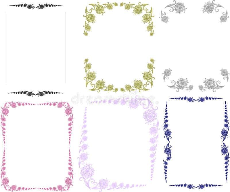 frames.flowers ilustracji