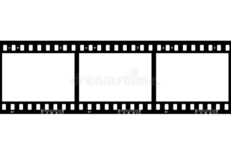 Frames of photographic film vector illustration