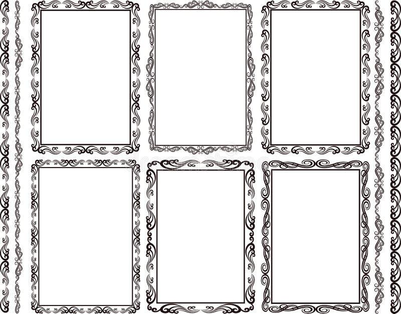 Download Frames rectangular stock vector. Illustration of ornament - 34761613