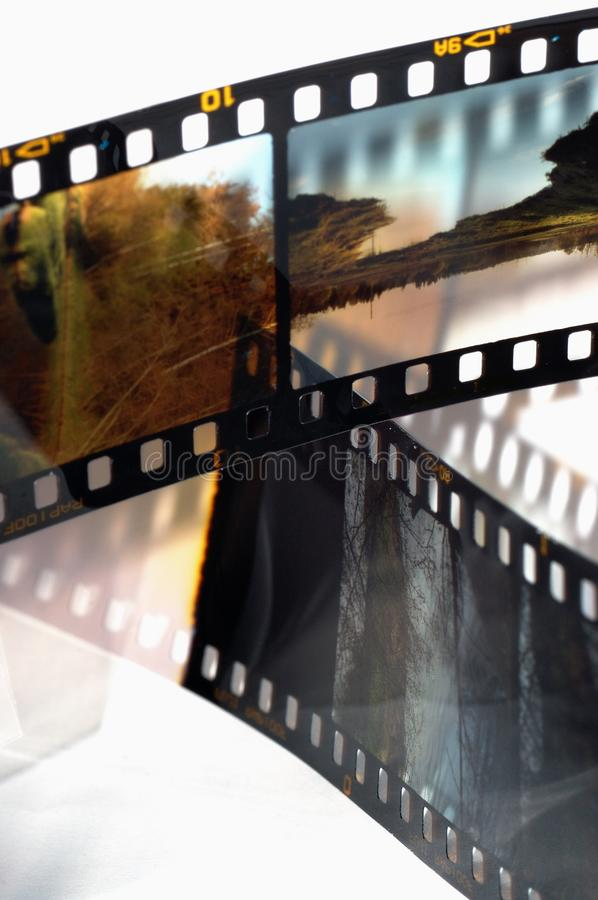 Frames of the slide film stock photos