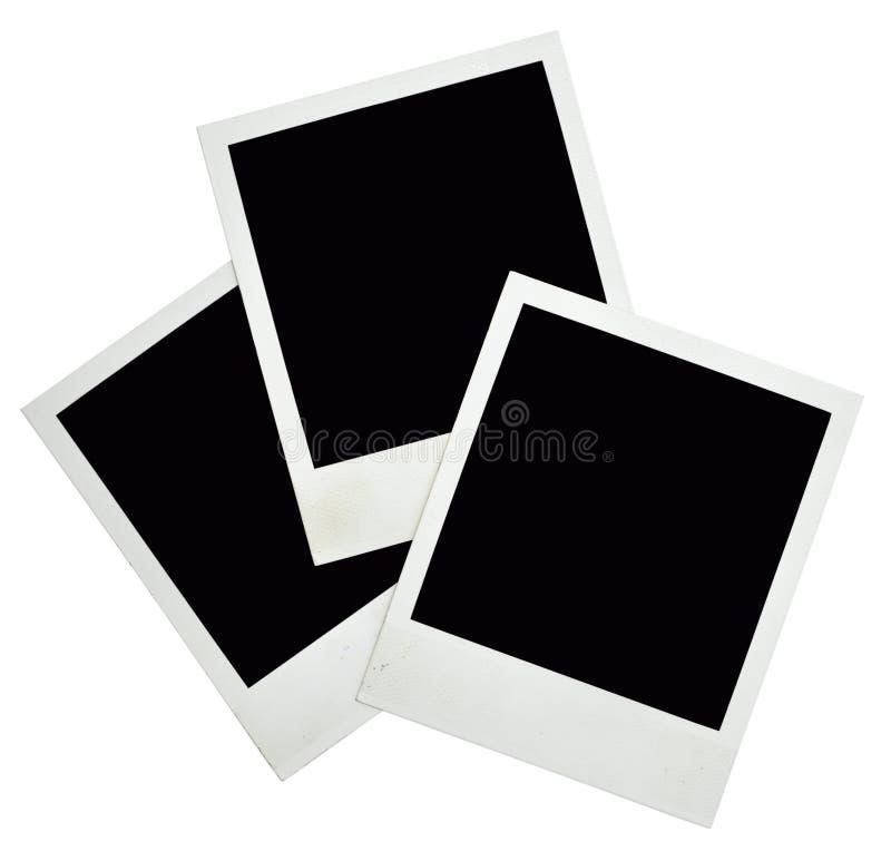 Frames velhos da foto fotografia de stock