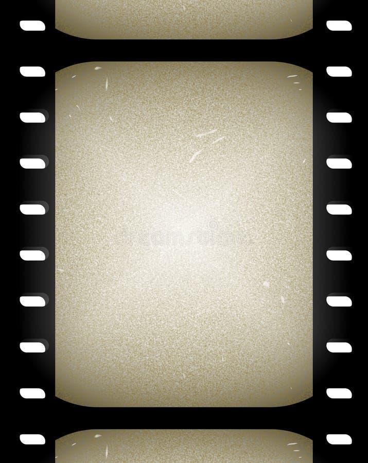 Frames velhos da película ou do filme   ilustração stock