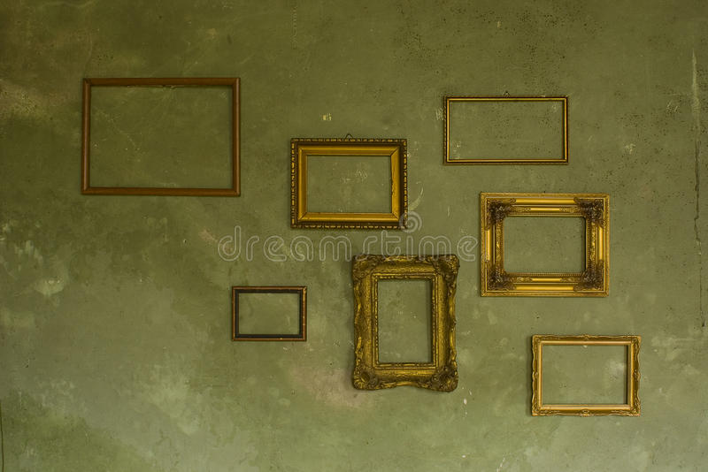 Download Frames On The Wall Royalty Free Stock Images - Image: 19931439