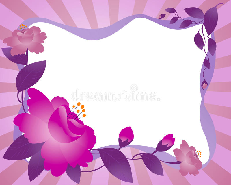 Download Framework, flower stock vector. Image of beams, gift - 13161163