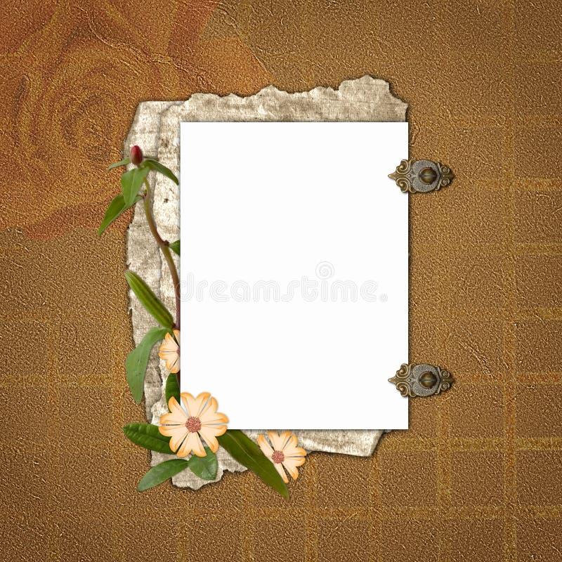 Framework for invitations stock illustration