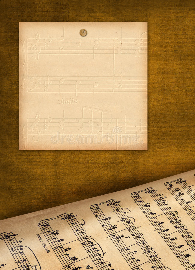 Framework for invitations. Grunge background. stock illustration
