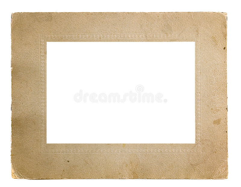 Framework for a photo. Traditional for the beginning the last century royalty free stock photo