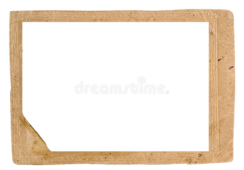 Framework for a photo. Traditional for the beginning the last century royalty free stock image