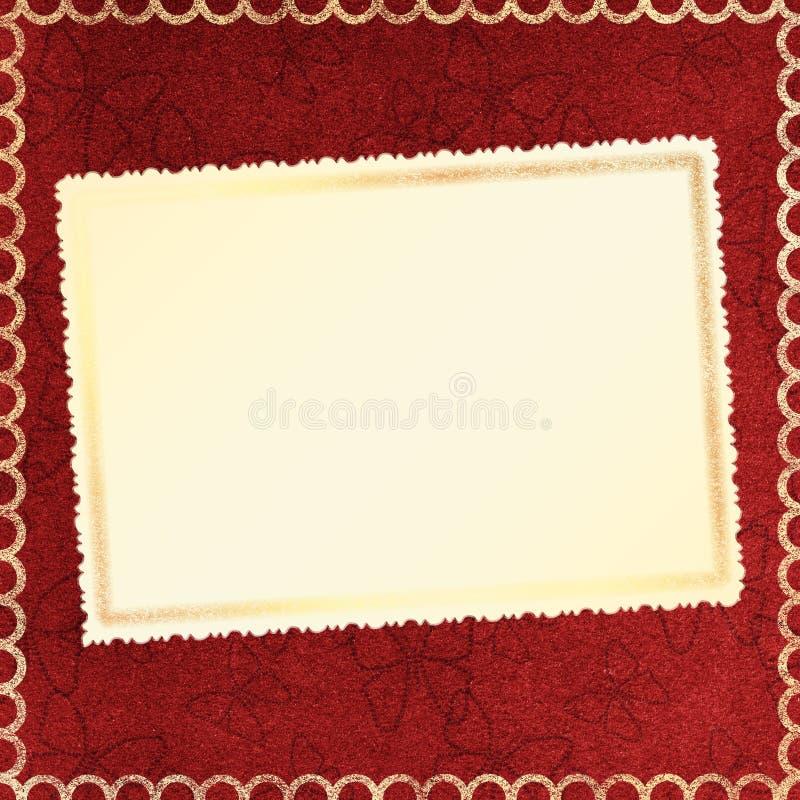 Framework for a photo or invitations. vector illustration