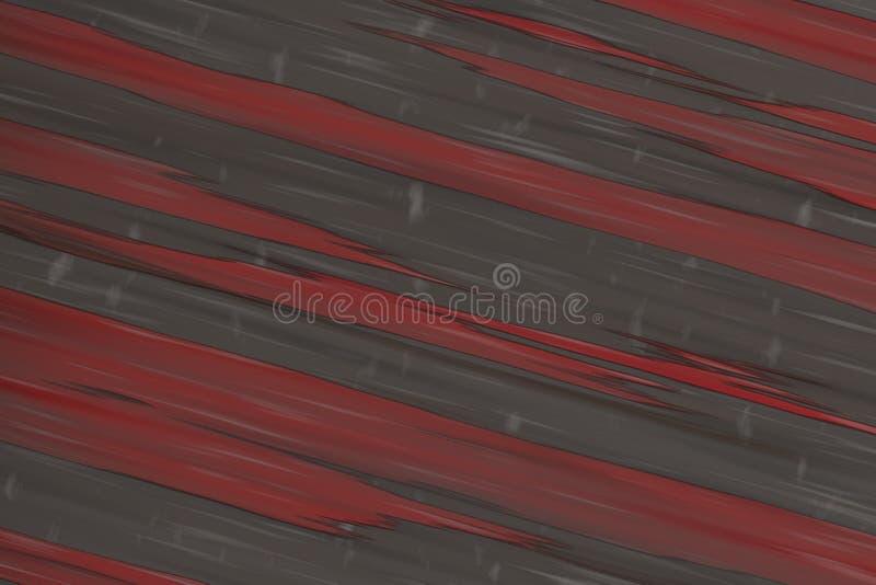 Framför diagonala band 3d för röd vägghjältebakgrund stenen royaltyfri foto
