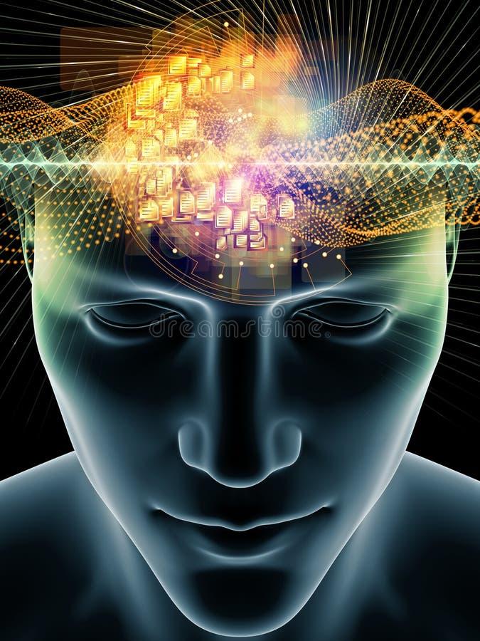 Framflyttning av den mänskliga meningen vektor illustrationer