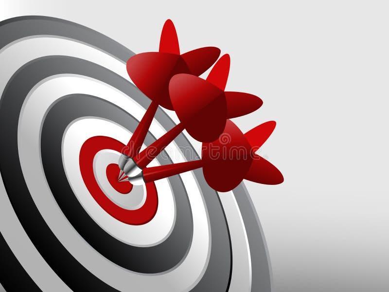 framgångsmål vektor illustrationer